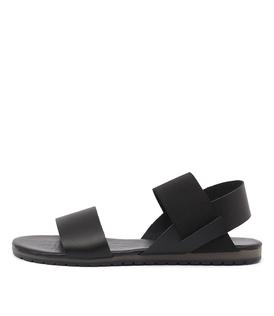 Maria Rossi Valda Nero Sandals