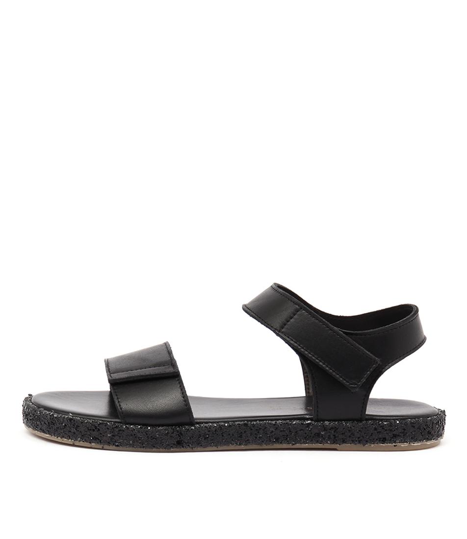 Maria Rossi Valencia Ma Nero Casual Flat Sandals