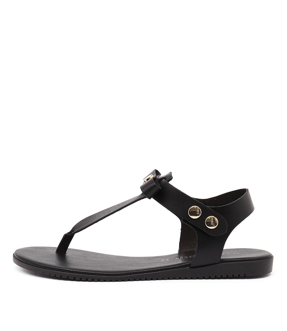 Maria Rossi Valerie Nero Sandals