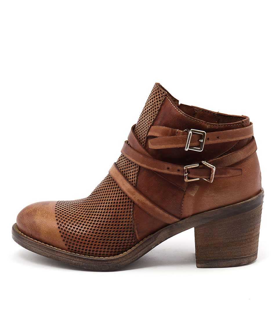 Maria Rossi Venus St Tan Casual Ankle Boots