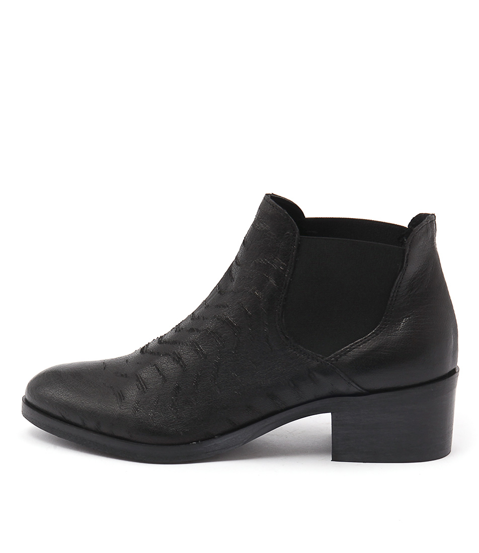 Maria Rossi Verone Black Ankle Boots