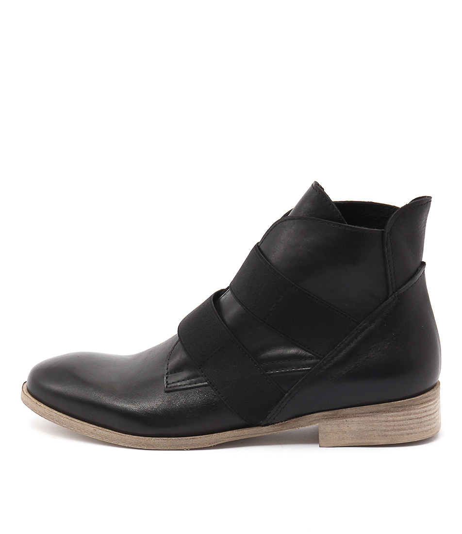 Maria Rossi Catrall Black Ankle Boots