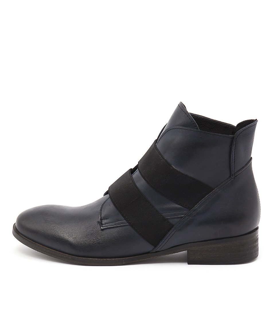 Maria Rossi Catrall Navy Ankle Boots