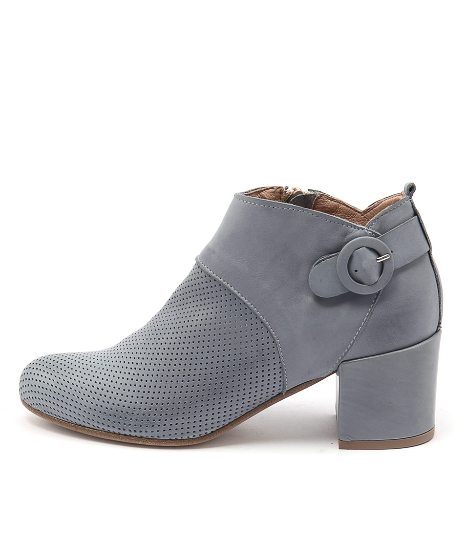 Maria Rossi Susana Blue Casual Ankle Boots