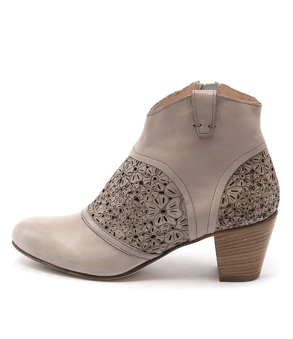 Maria Rossi Susetta Taupe Casual Ankle Boots
