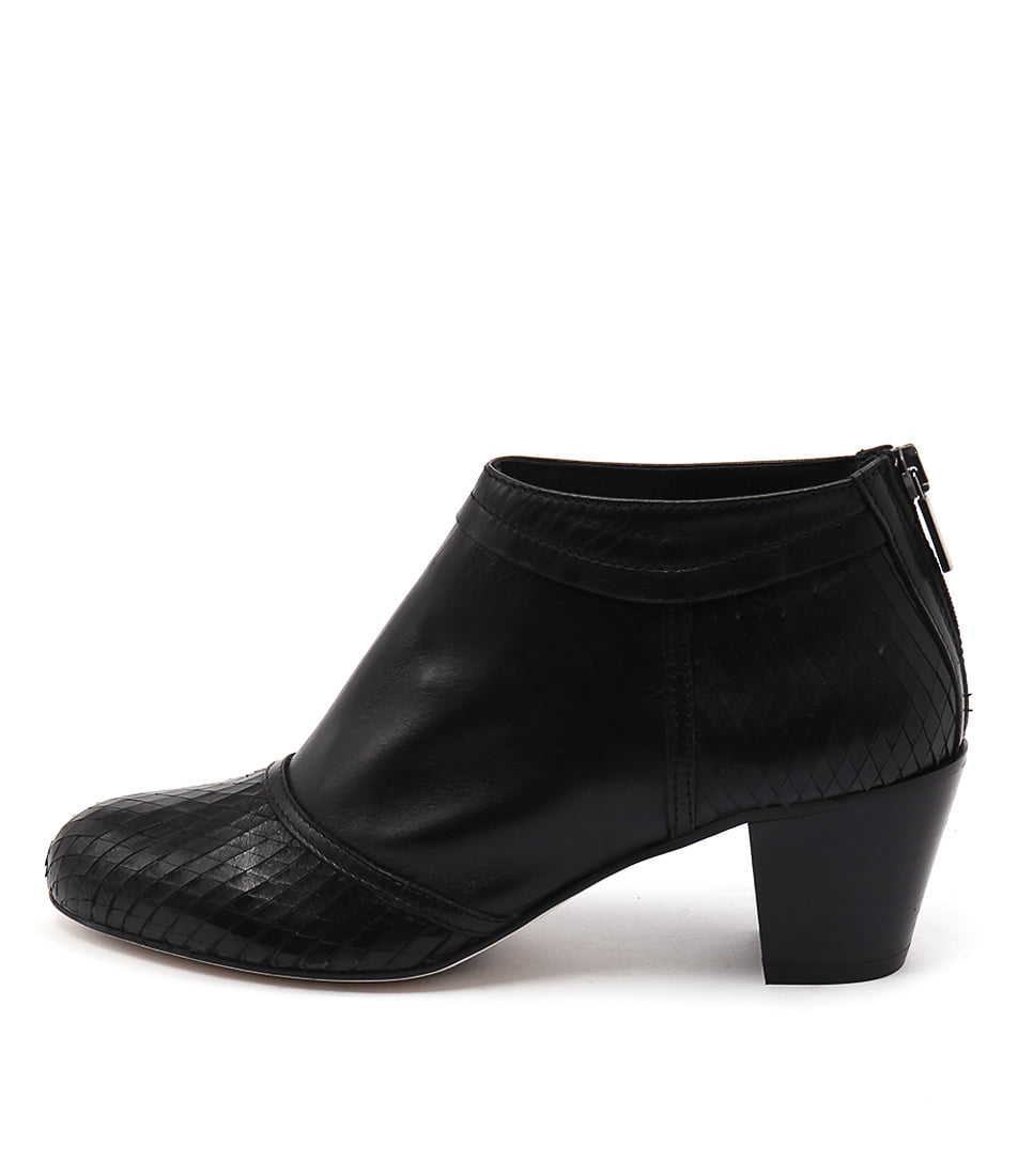 Maria Rossi Sancia Black Casual Ankle Boots