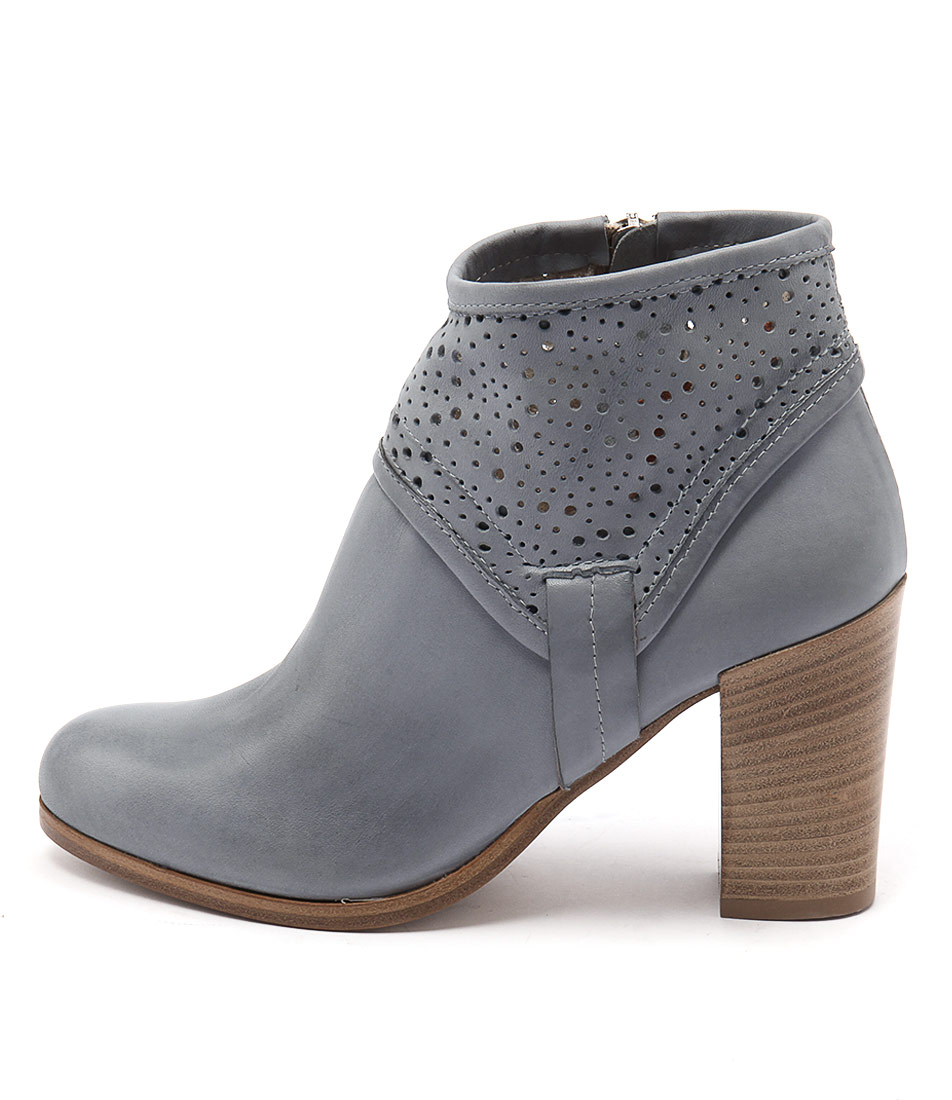 Maria Rossi Savino Blue Casual Ankle Boots