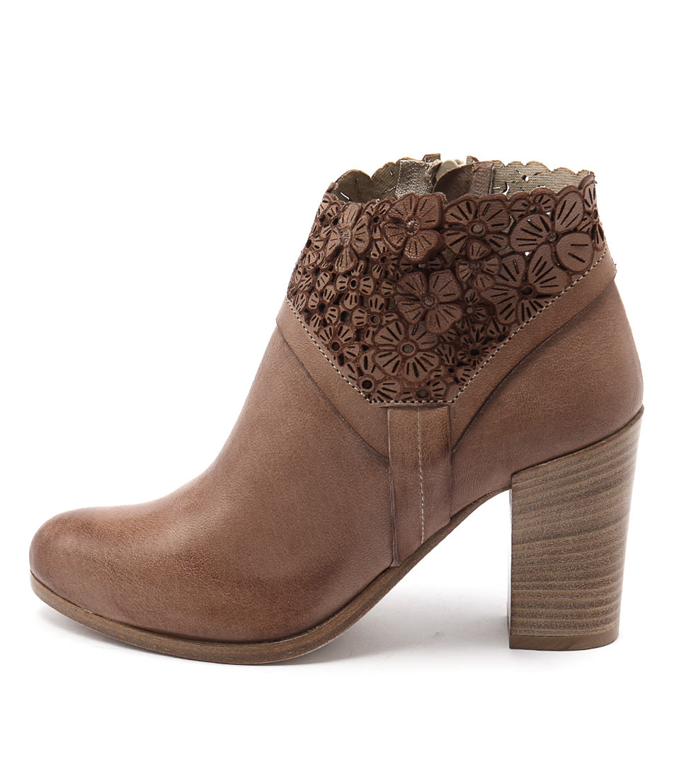 Maria Rossi Sebastiana Tan Casual Ankle Boots buy  online
