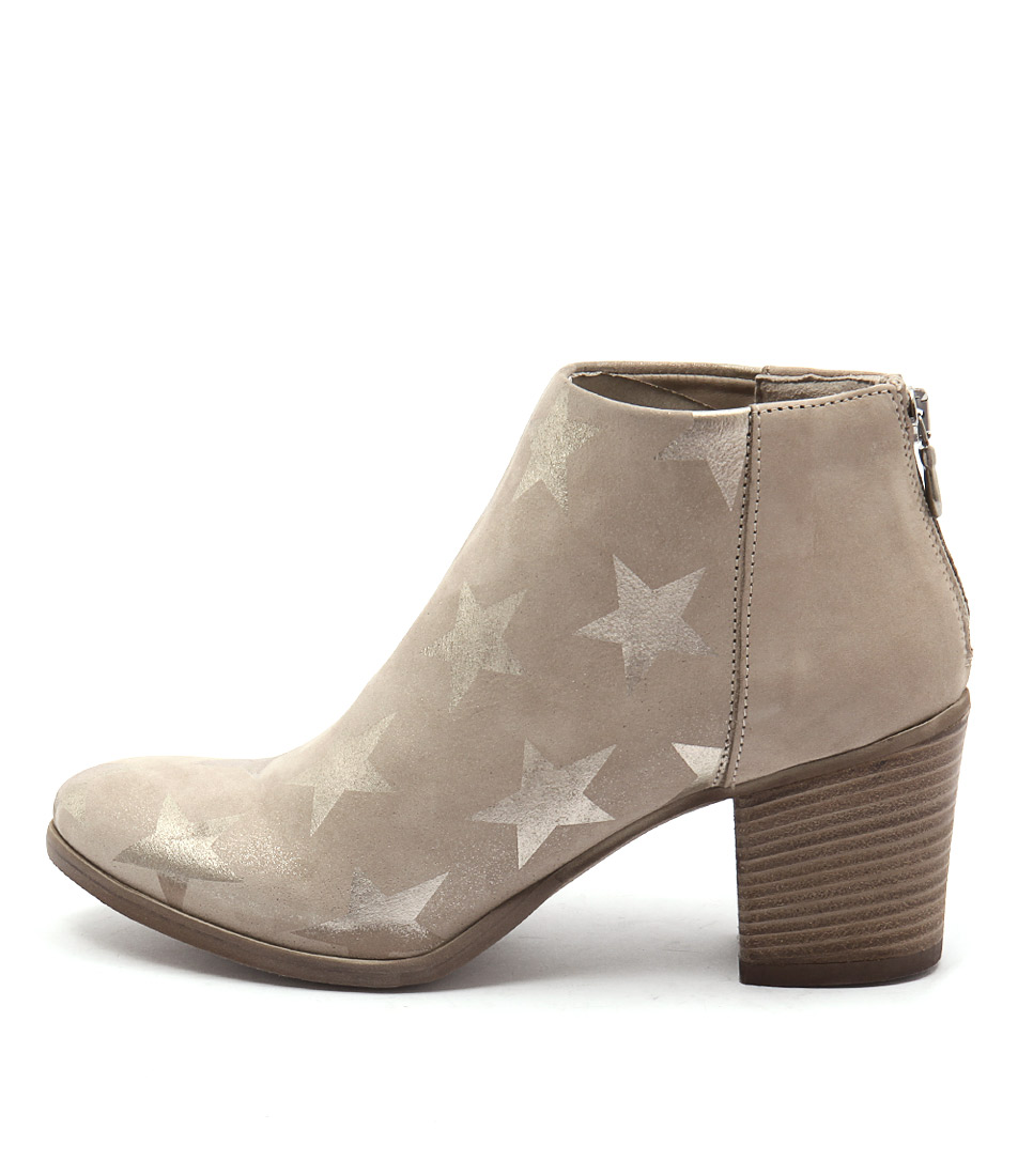 Maria Rossi Jacqueline Misty Grey Ankle Boots