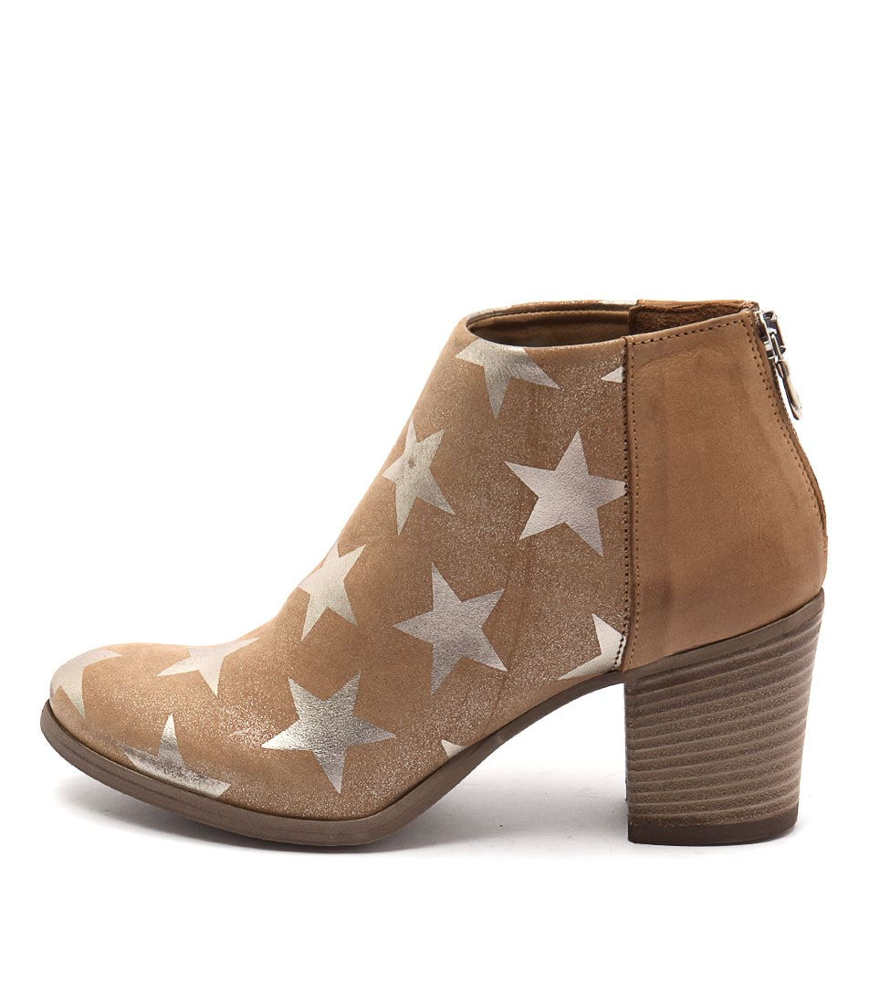 Maria Rossi Jacqueline Tan Ankle Boots