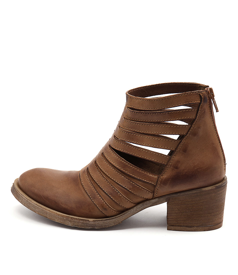 Maria Rossi Catriona Tan Ankle Boots