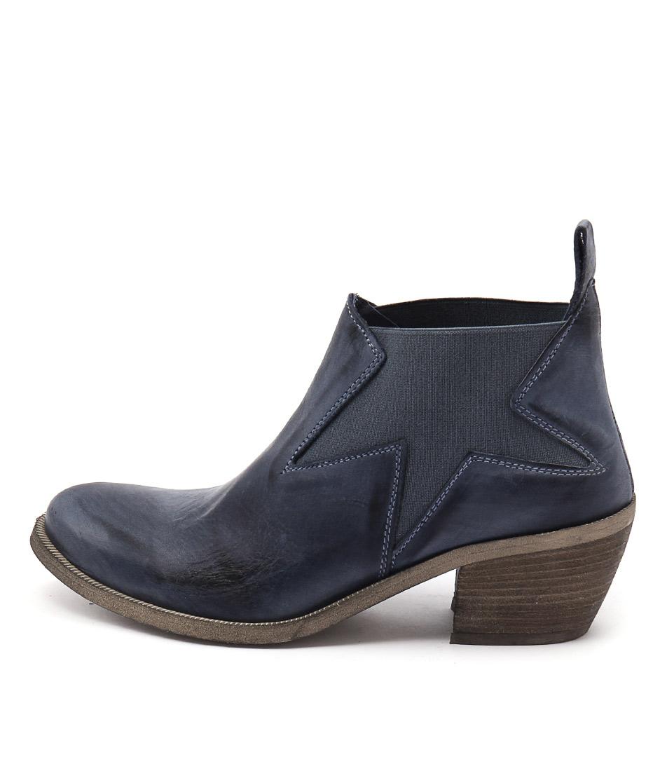 Maria Rossi Calli Blue Boots