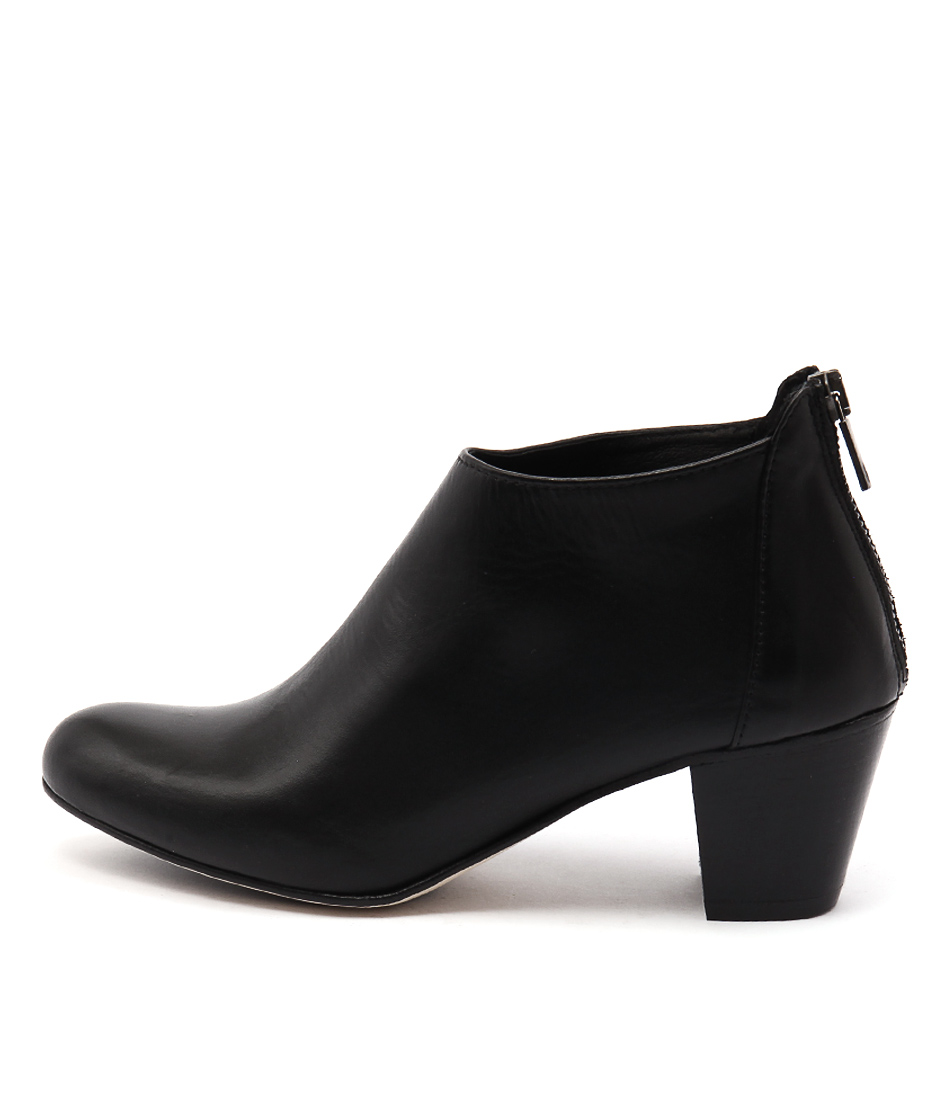 Maria Rossi Sefton St Black Heel Ankle Boots