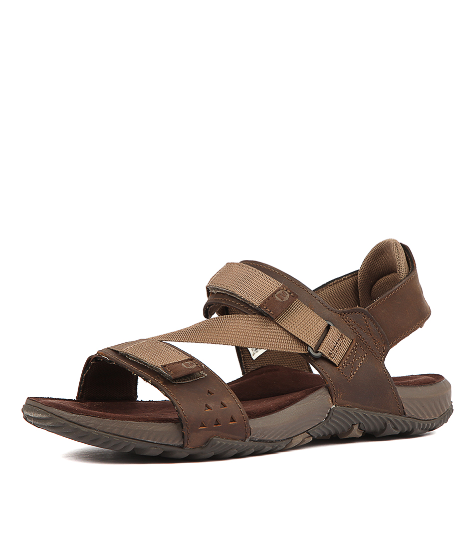 377752b931f8 New Merrell Terrant Strap Mens Shoes Comfort Sandals Sandals Flat