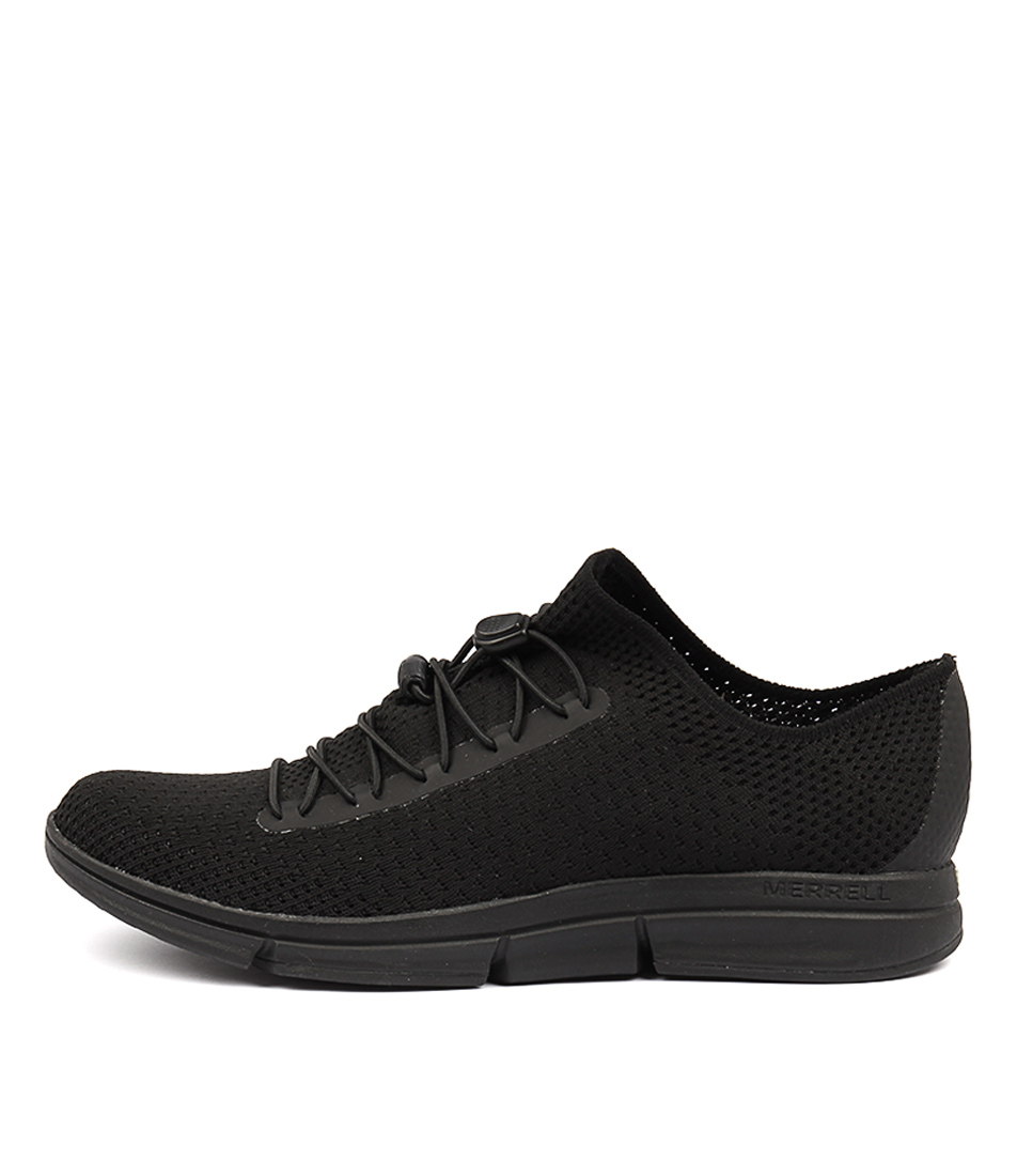 Merrell Zoe Sojourn Lace Knit Q2 Black Sneakers