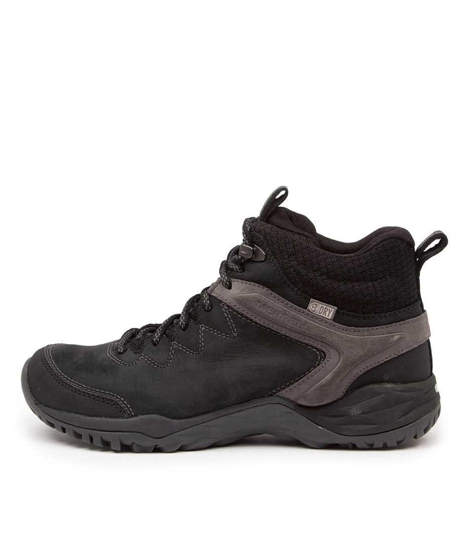 Buy Merrell Siren Traveller Q2 Mid Wp Me Black Ankle Boots online with free shipping