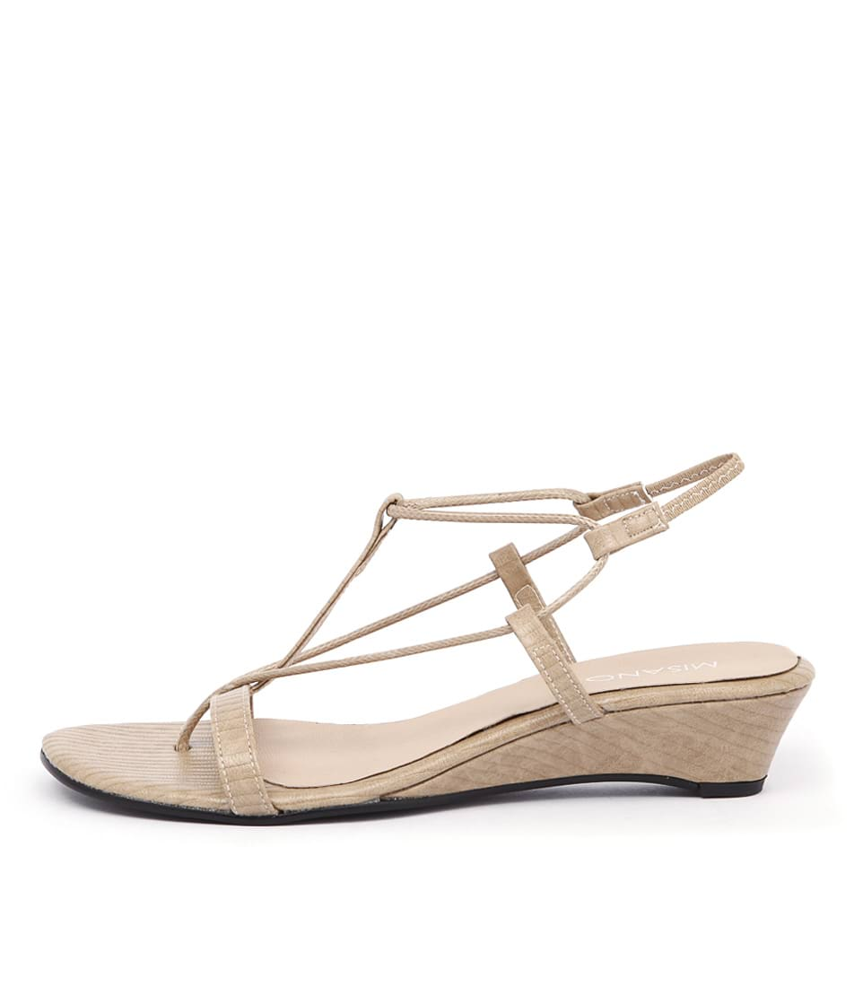 Misano Pepper Sand Sling Casual Heeled Sandals