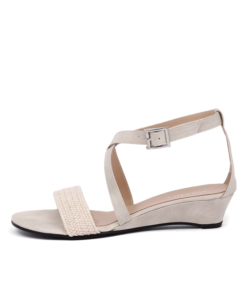 Misano Paros Cream Casual Flat Sandals
