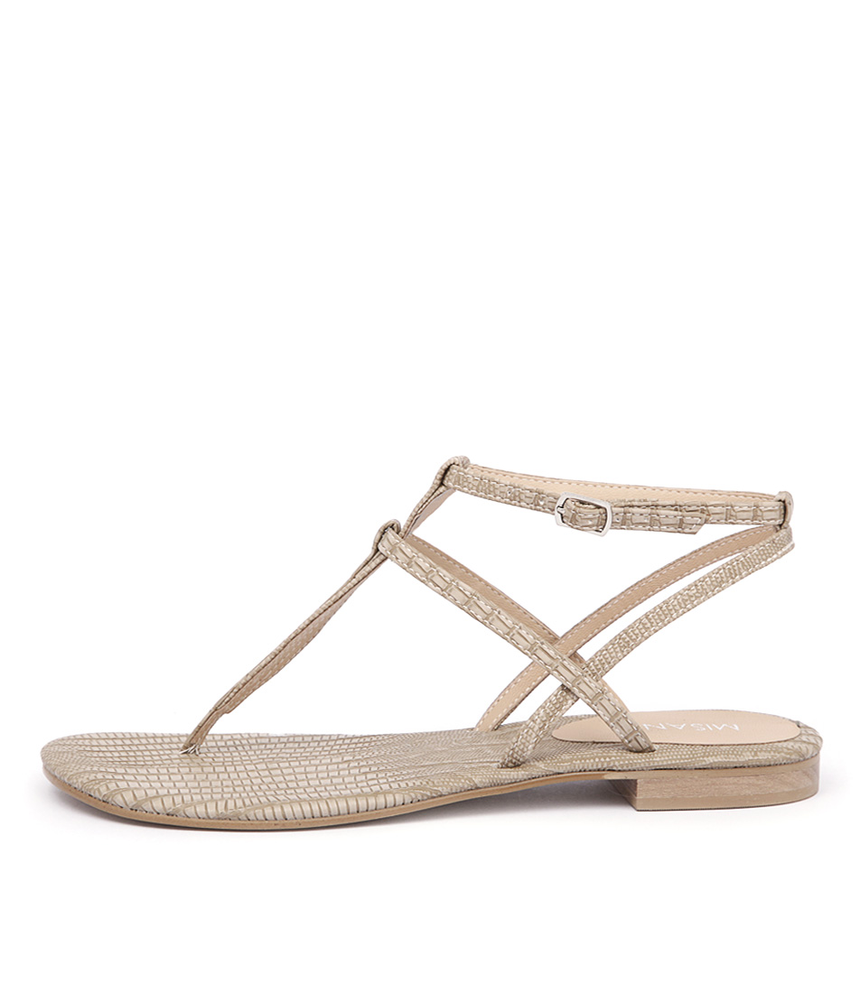 Photo of Misano Shizu CamelFlat Sandals womens shoes