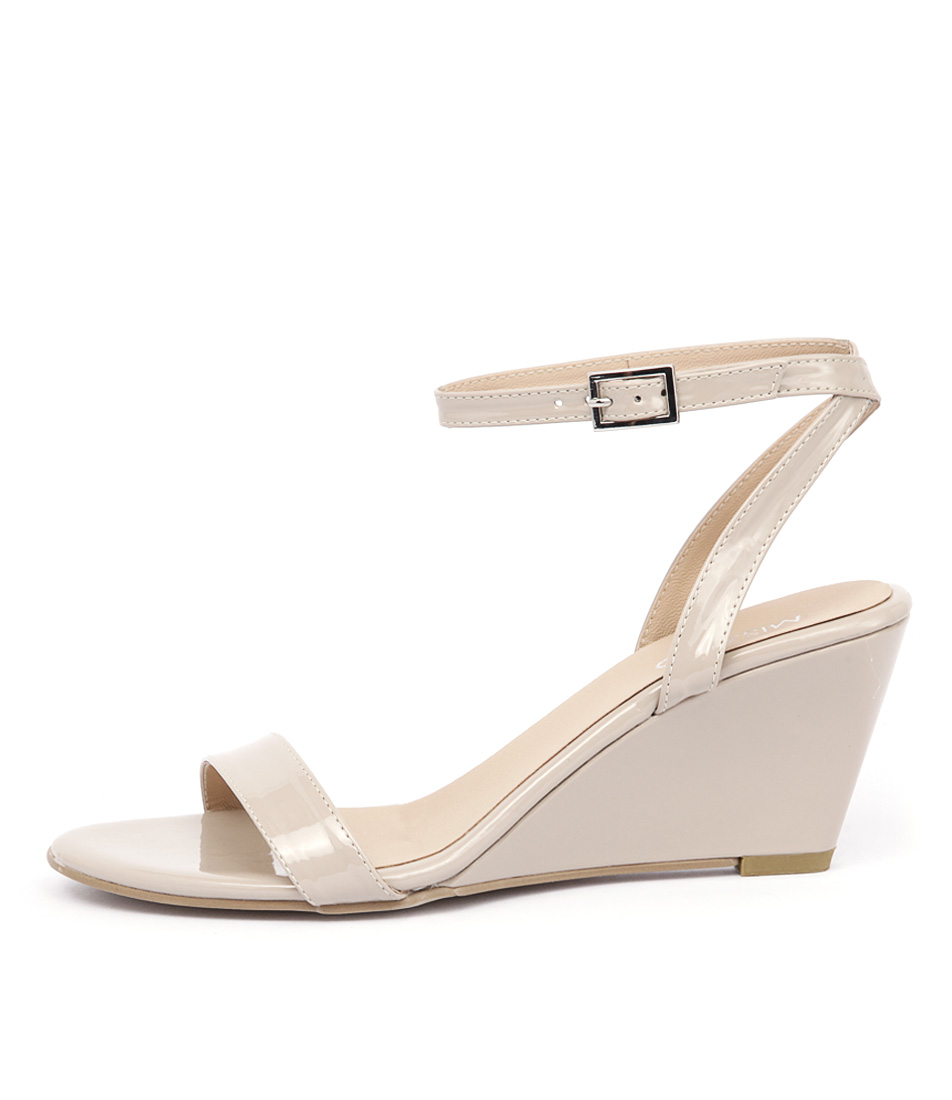 Misano Yates Nude Dress Heeled Sandals