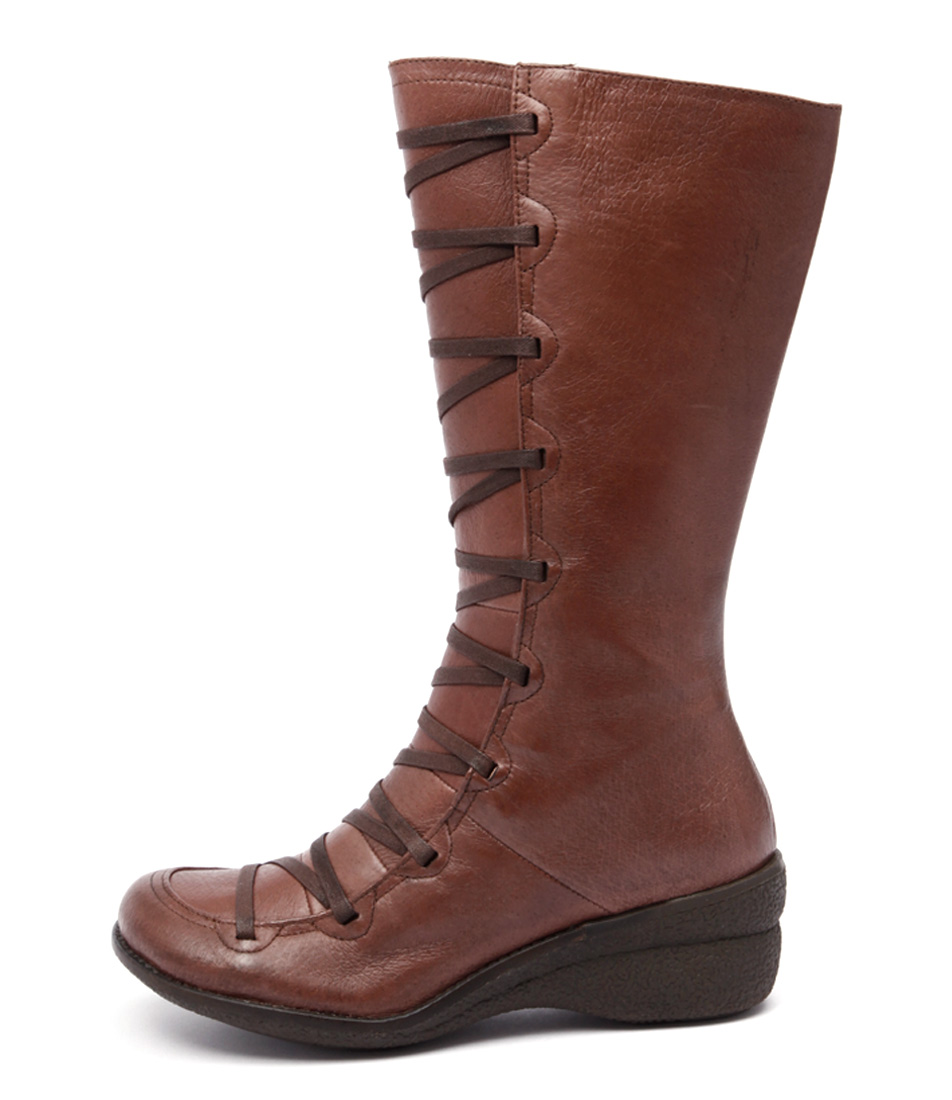 Miz Mooz Otis Brown Long Boots