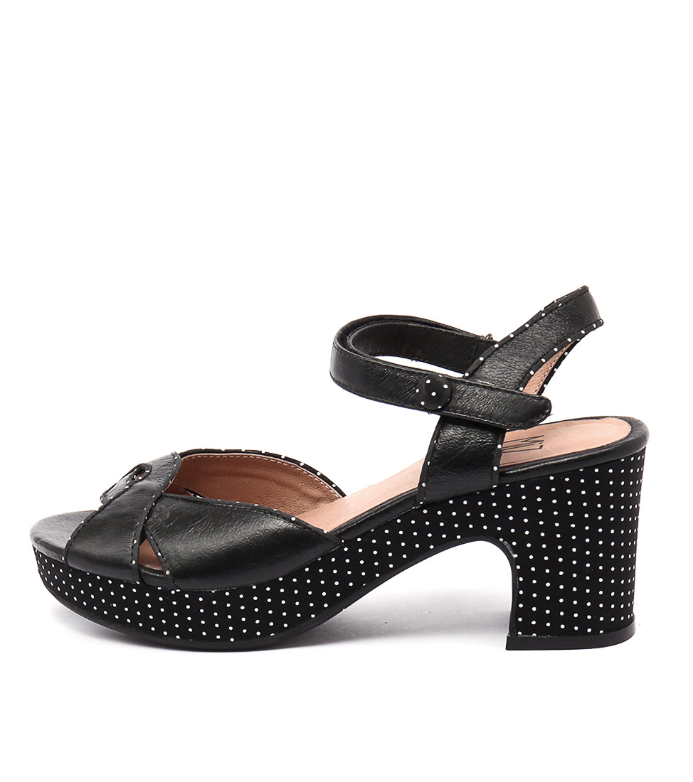 Miz Mooz Candy Mm Black Sandals