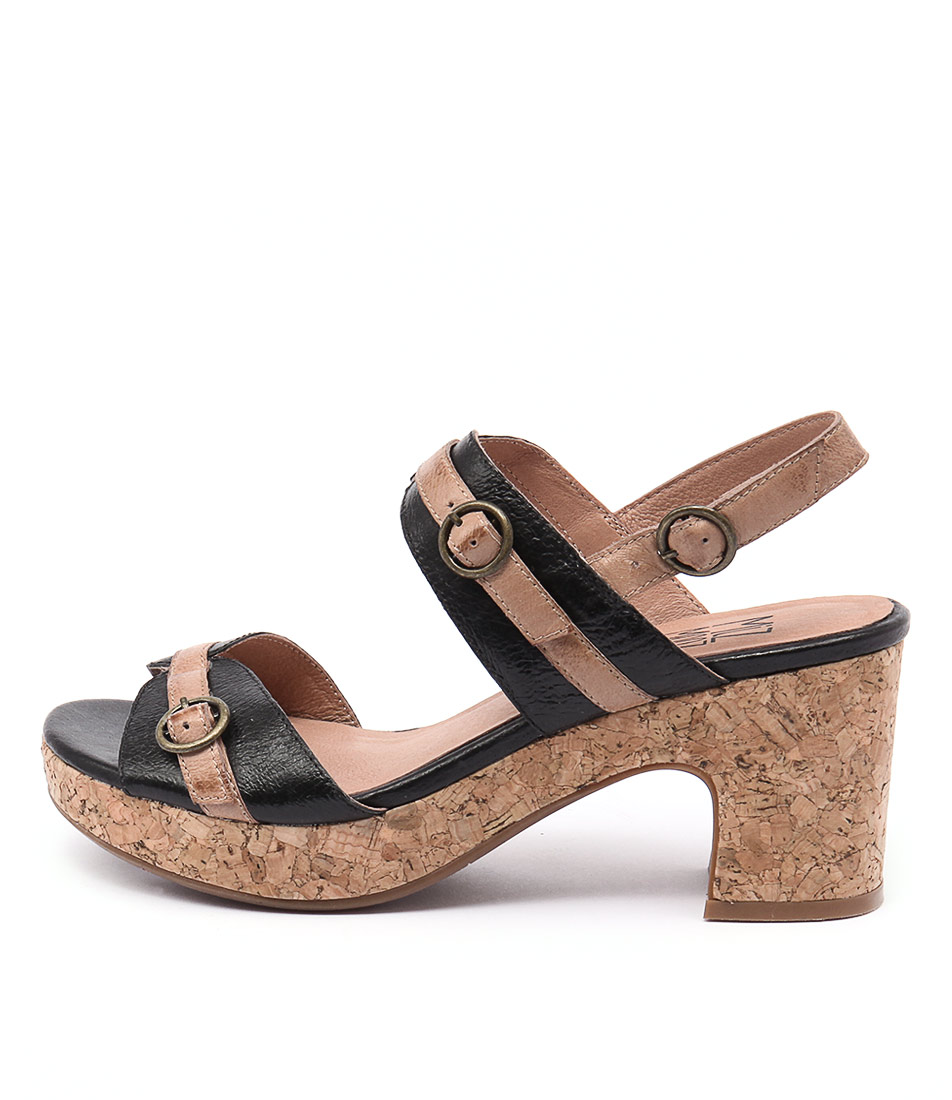 Miz Mooz Charming Mm Black Sandals