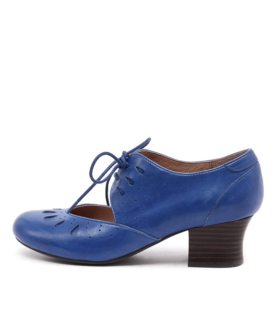 Miz Mooz Fordham Cobalt High Heels Shoes