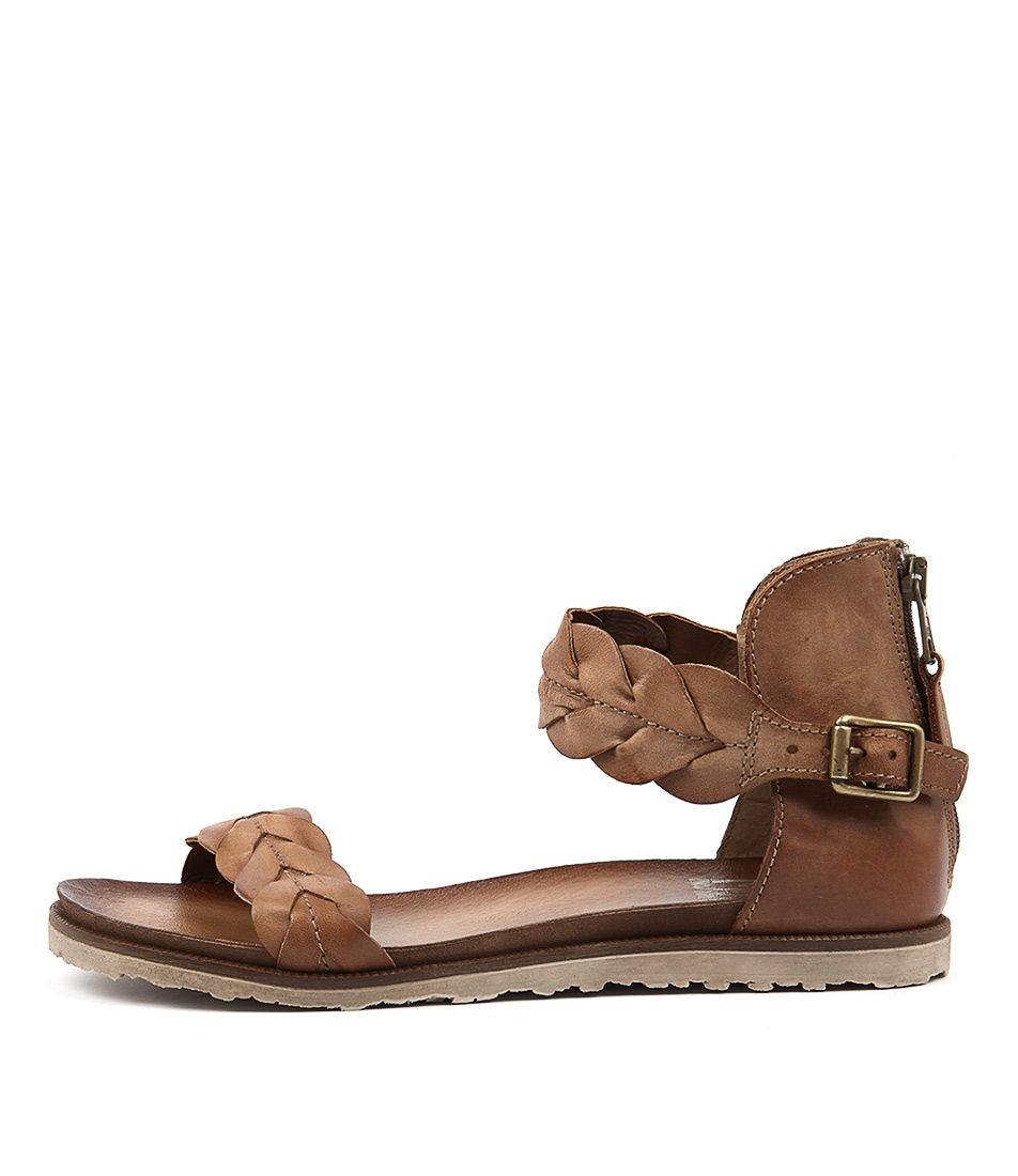 Miz Mooz Taft Whiskey Casual Flat Sandals