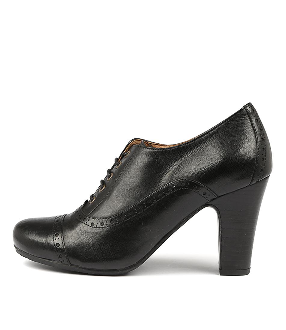 Miz Mooz Joey Black Ankle Boots