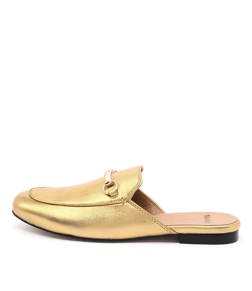 Mollini Googi Old Gold Shoes