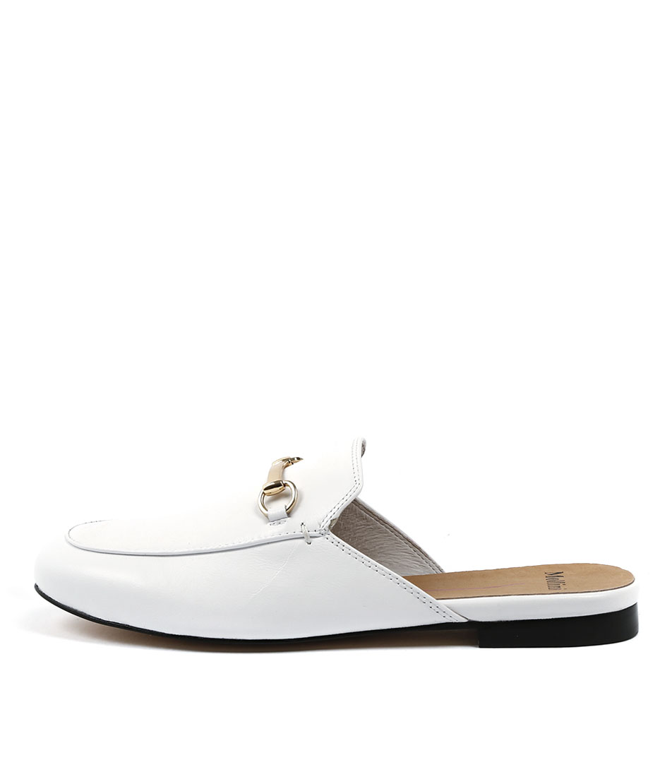 Mollini Googi White Flat Shoes