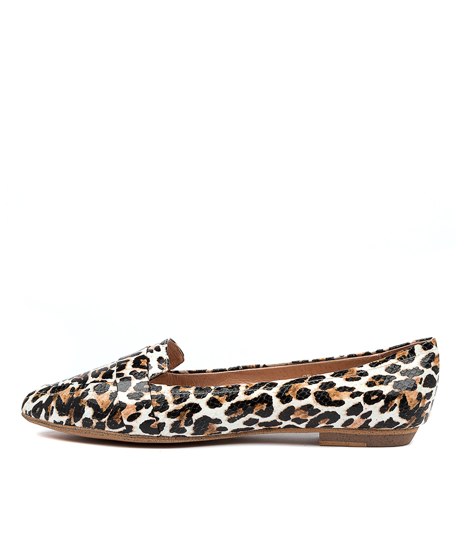 Buy Mollini Grail Ocelot Print Flats online with free shipping