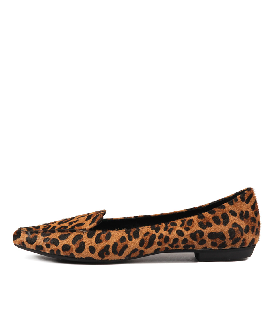 Mollini Gyro Ocelot Flat Shoes