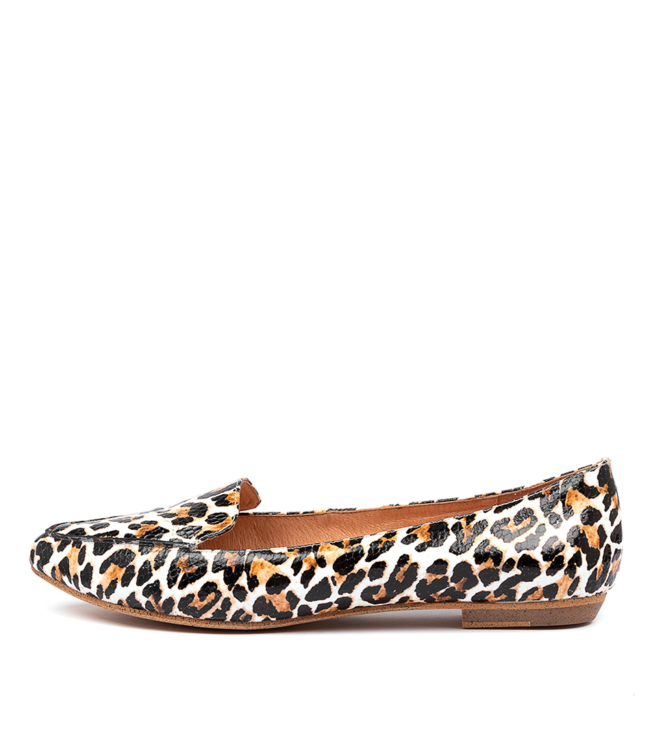 Buy Mollini Gyro Ocelot Print Flats online with free shipping