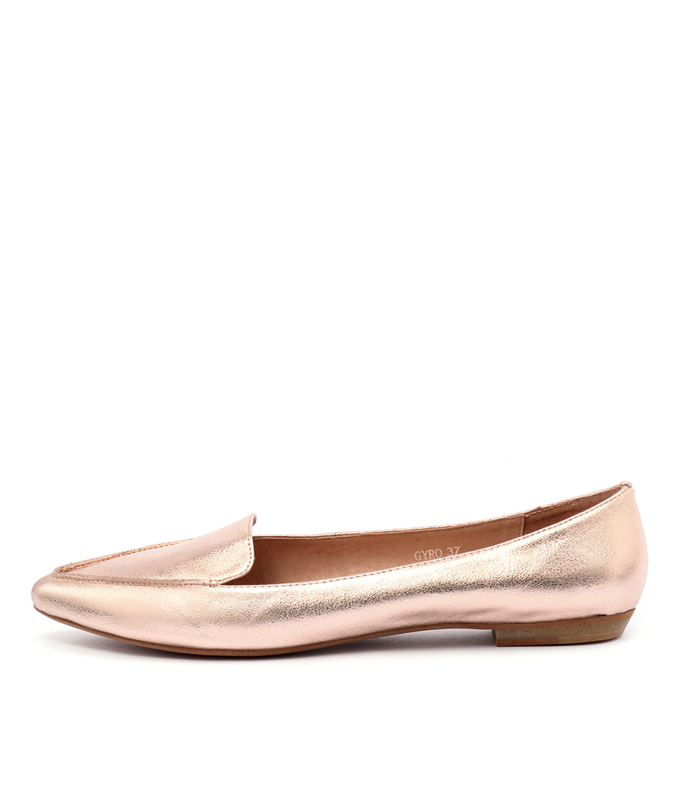 Mollini Gyro Rose Gold Flat Shoes