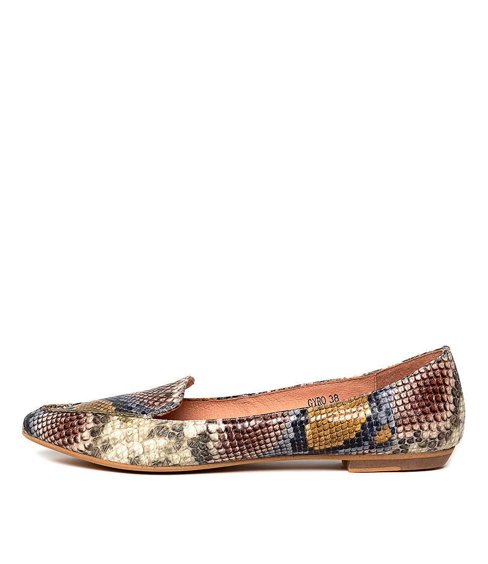 Buy Mollini Gyro Pink Multi Flats online with free shipping