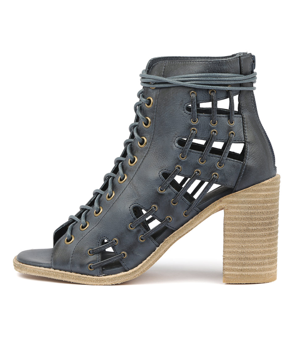 Buy Mollini Jayman Navy Heeled Sandals online with free shipping