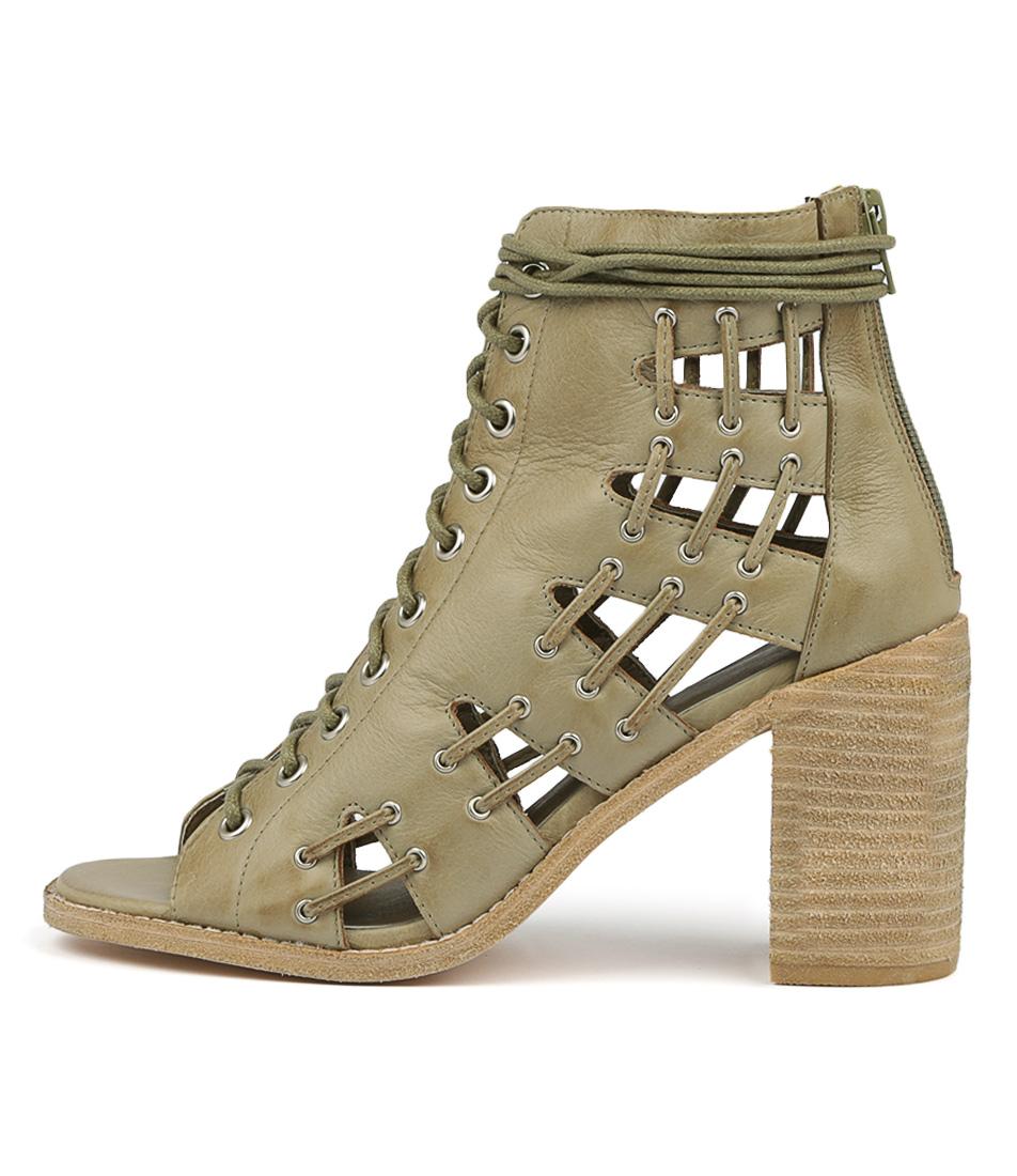 Buy Mollini Jayman Khaki Heeled Sandals online with free shipping