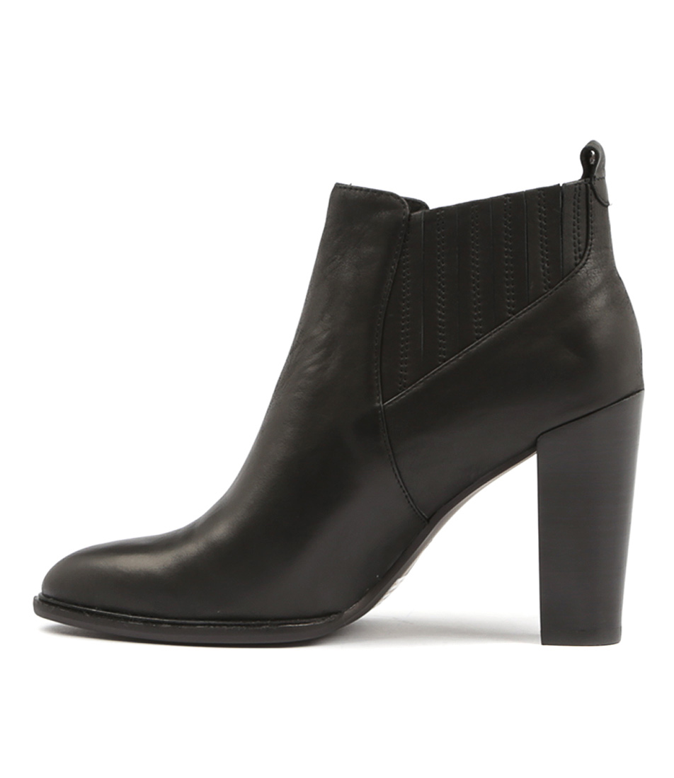 Mollini Oppie Black Ankle Boots