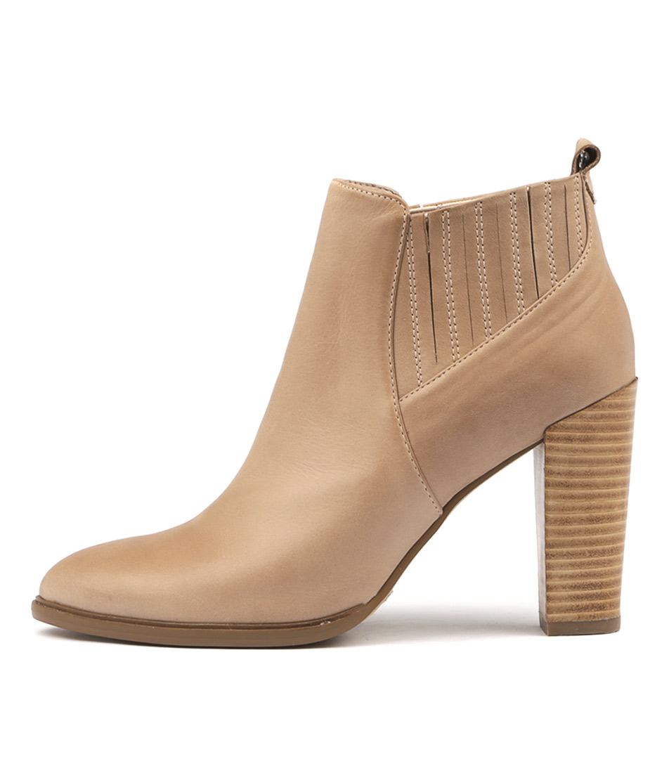 Mollini Oppie Latte Ankle Boots