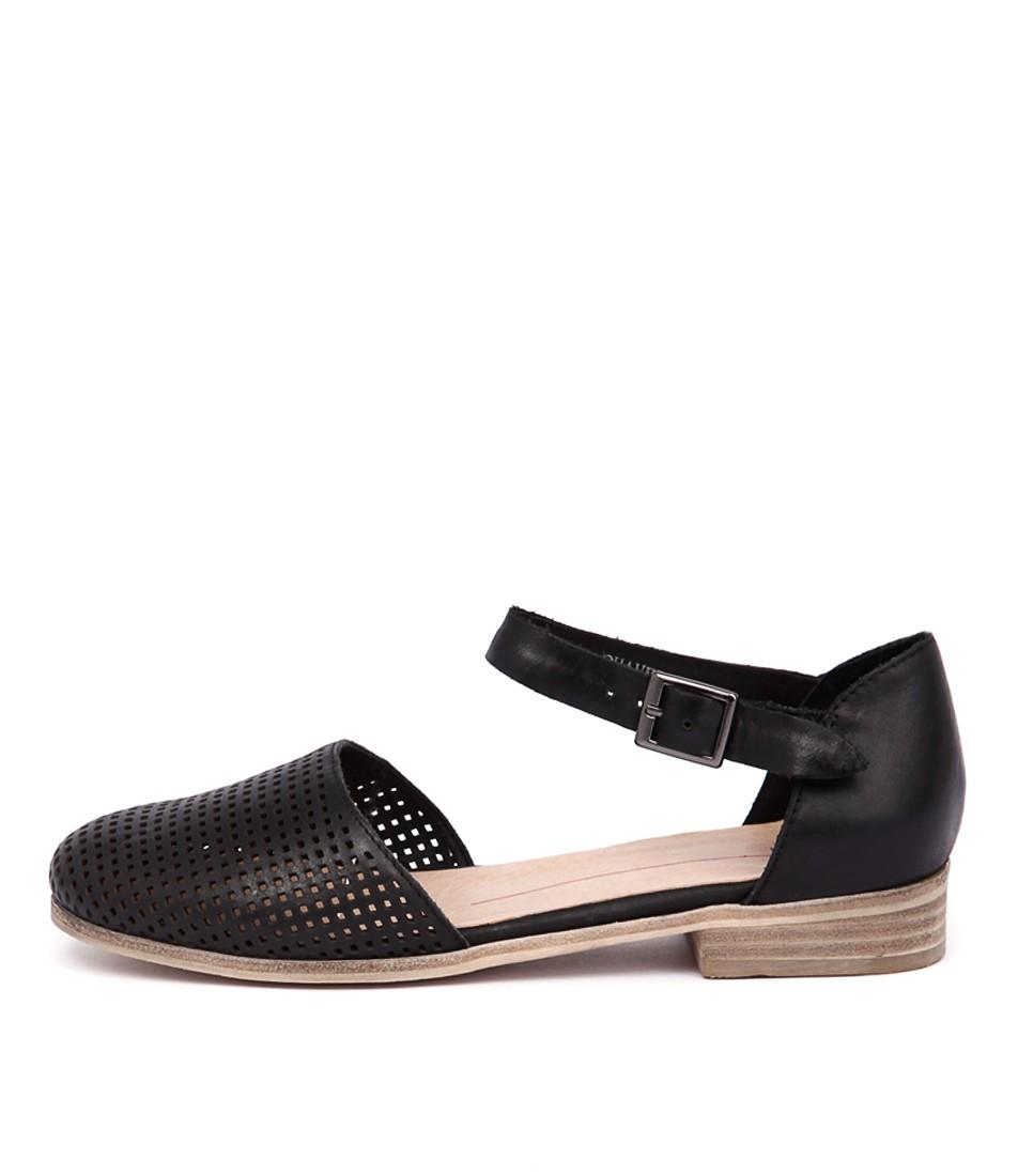 Mollini Quaver Black Casual Flat Shoes buy  online