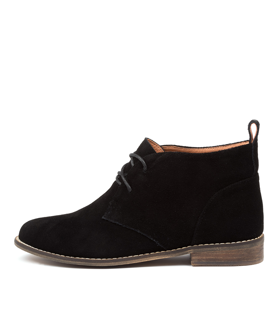 Buy Mollini Queenie Black Ankle Boots online with free shipping