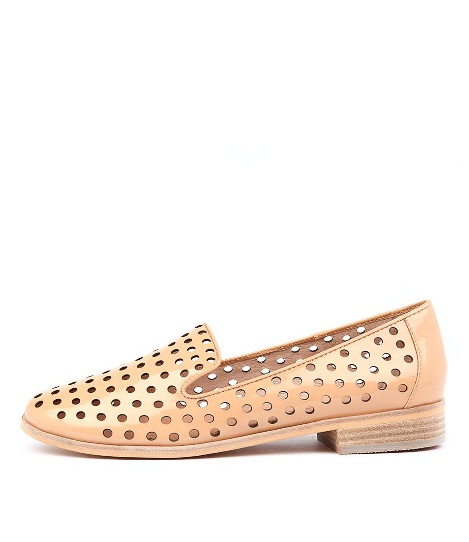 Mollini Queff Nude Flat Shoes