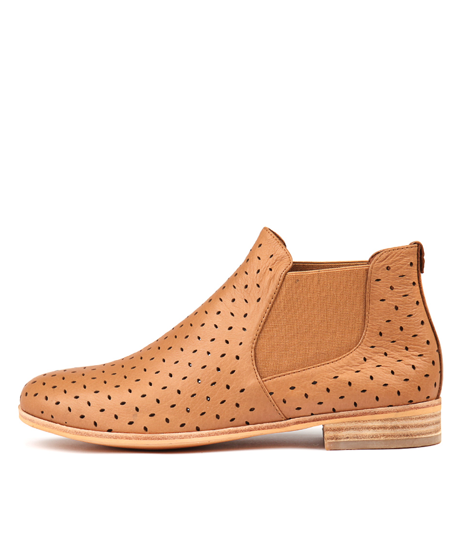 Photo of Mollini Quonut Tan Ankle Boots womens shoes