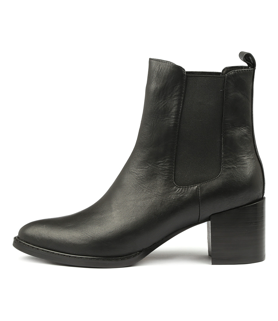Buy Mollini Ridaisy Black Ankle Boots online with free shipping