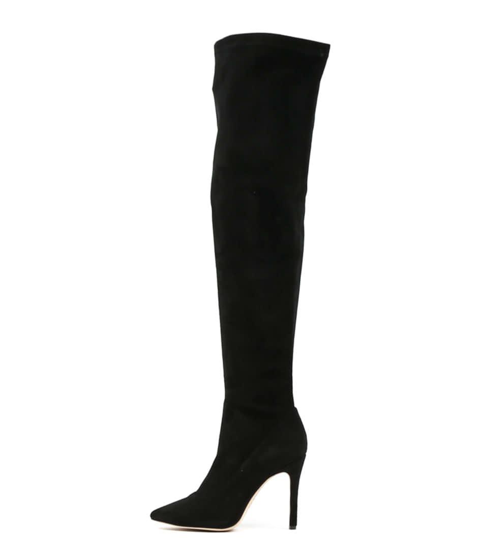 Mollini Brewon Black Boots Long Boots