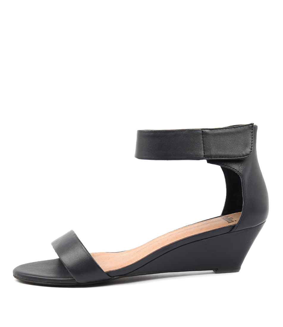 Buy Mollini Marsy Navy Heeled Sandals online with free shipping