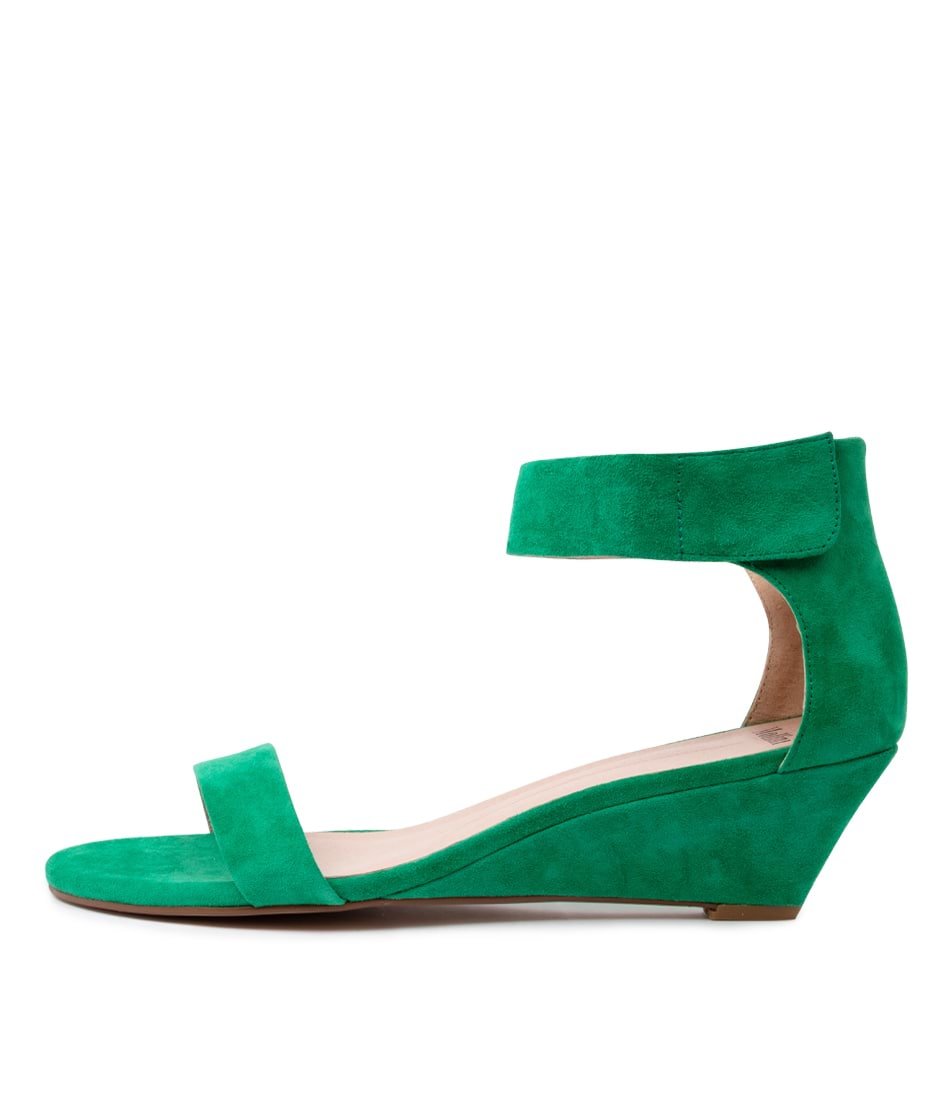 Buy Mollini Marsy Emerald Heeled Sandals online with free shipping