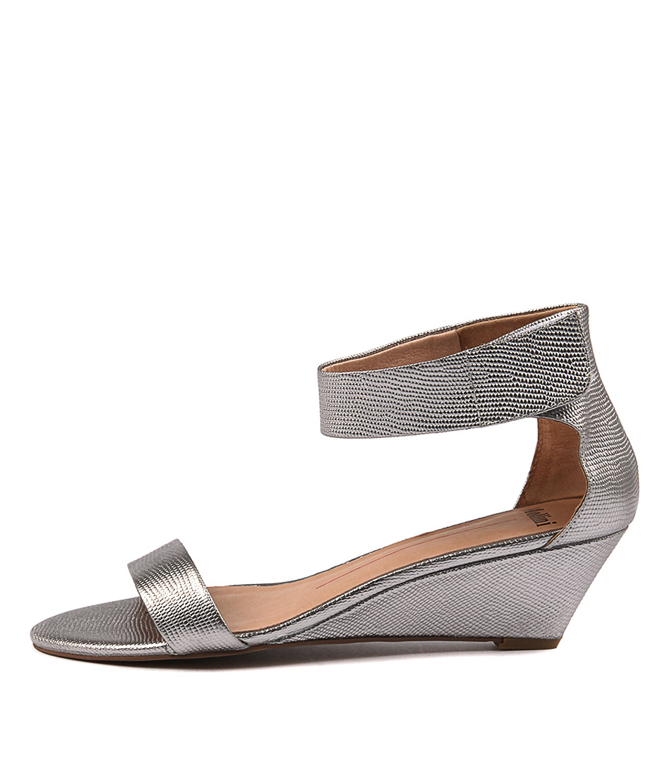 Mollini Marsy Pewter Dress Heeled Sandals buy  online
